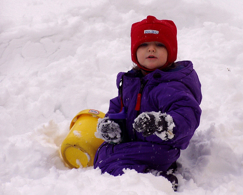 snowsuit photo
