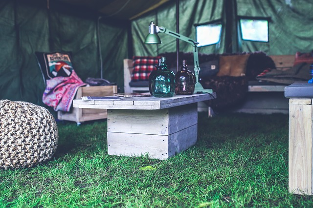 camping hygge